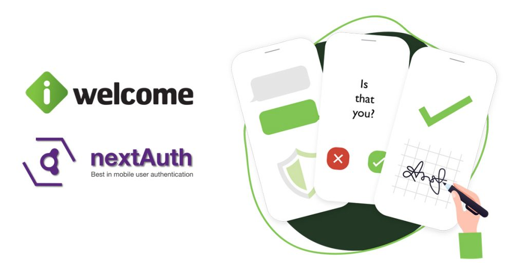 iWelcome Mobile Identity launched using nextAuth's passwordless strong authentication technology