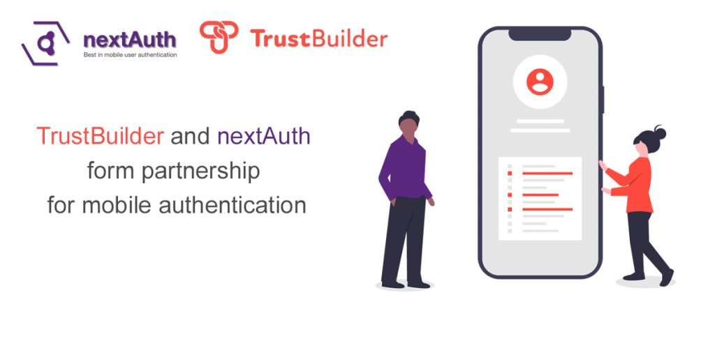 trustbuilder and nextAuth form partnership for mobile authentication